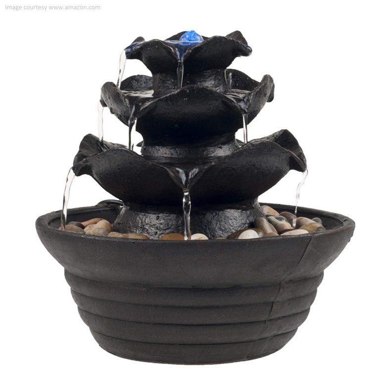 Enjoy Your Evenings in Your Peaceful Outdoors with a Calming Fountain
