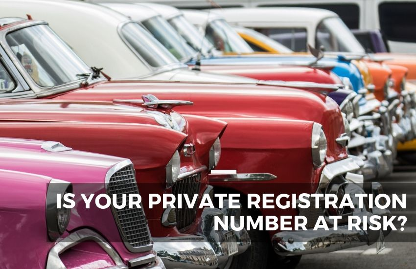 Is Your Private Registration Number at Risk?