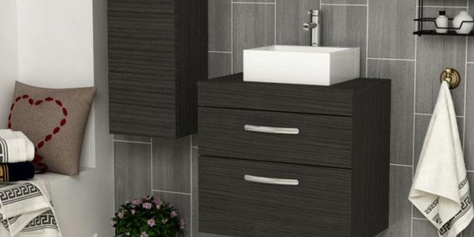 Worktop vanity units