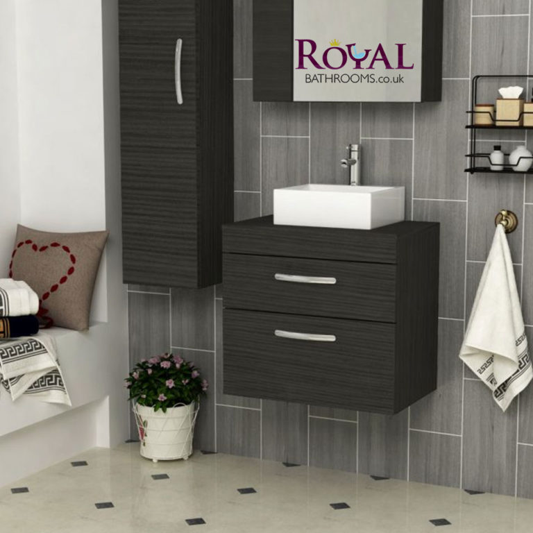 Update with Wall Hung Counter top Vanity Unit Making Cloakroom More Capacious