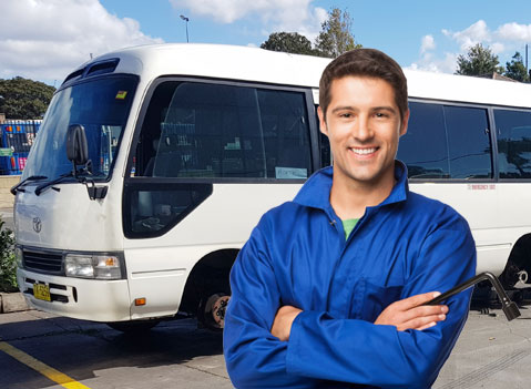 Bus Mechanic To Repair Bus In Any Condition And Anywhere