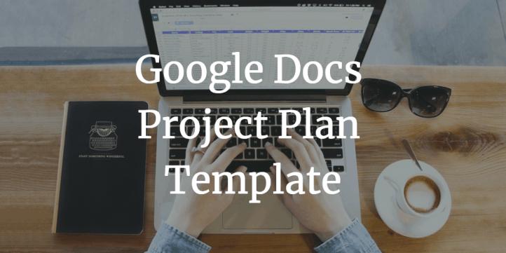 Google Sheet Project Plan Template