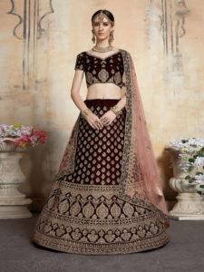Heavy work Bridal lehenga choli