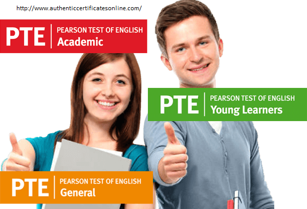Visit here to buy PTE certificate for sale at best price