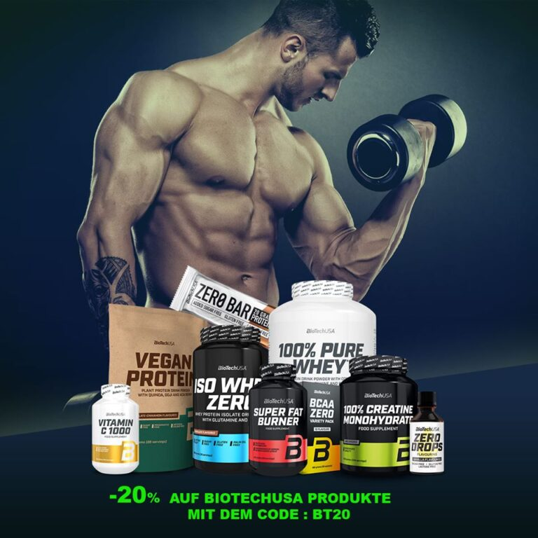 Let's Understand Why Biotech USA BCAA is Important