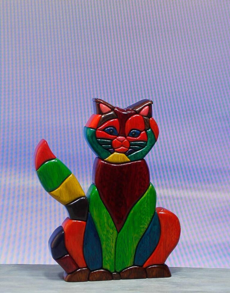 Wooden Cat Sculptures and Different Other Wooden Animal Sculptures for Sale – Choose the Classy Range