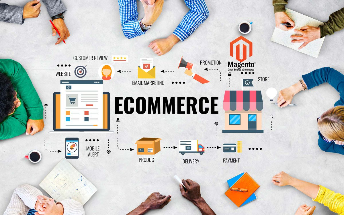 Choose only the best ecommerce development company in noida as your partner