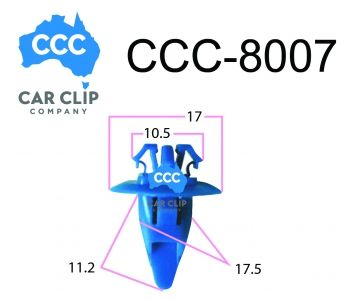 Toyota Car Clips at Competitive Rates from Car Clip Company