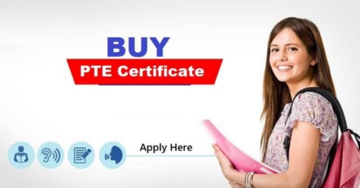 Apply for PTE Certificate Online at Buy PTE Certificate Online