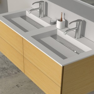 Solid Wood Bathroom Vanity to Make Your Bathing Area More Spacious and Modern