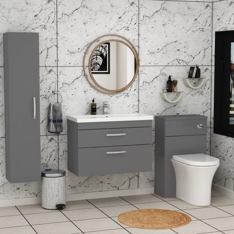 The practicality of picking 2 drawer vanity unit for your bathroom