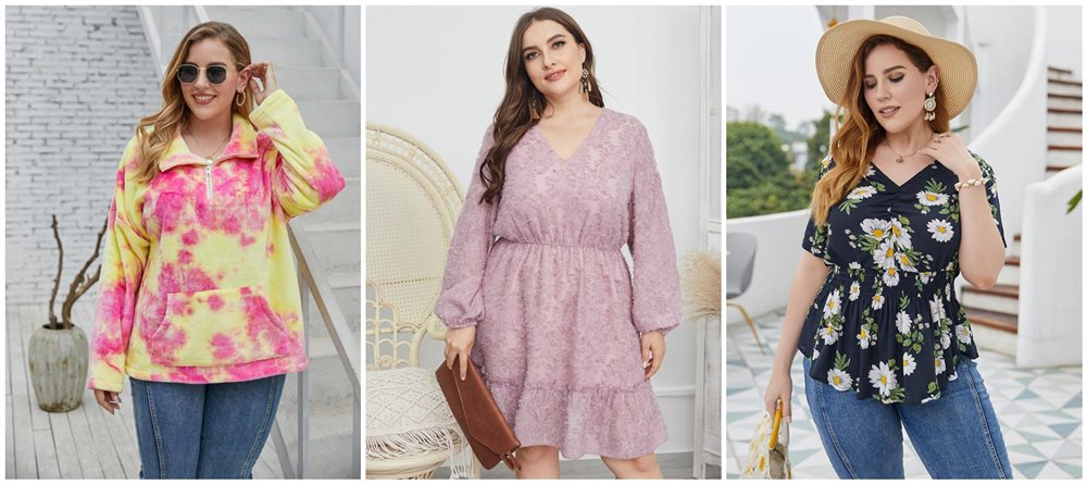 Stunning Tricks for Women to Style Plus Size Clothing