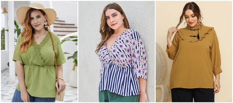 Flattering Plus Size Tunics for Women to Style