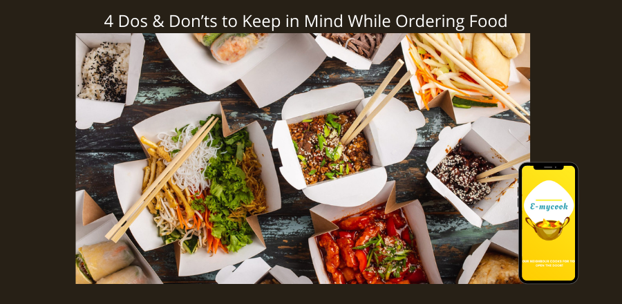4 Dos & Don'ts to Keep in Mind While Ordering through a Food Delivery Service App