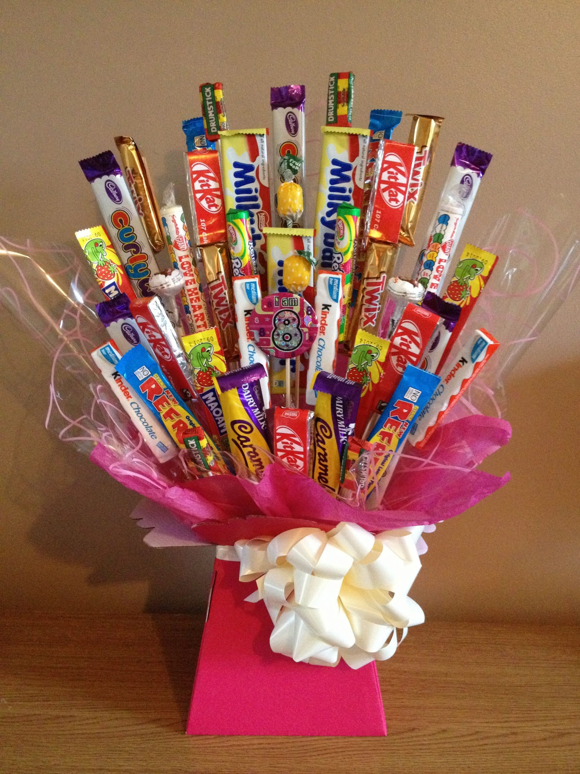 Choose From A Huge Range Of Chocolate And Sweet Bouquets