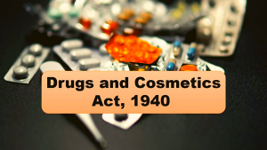 Drugs and Cosmetics Act