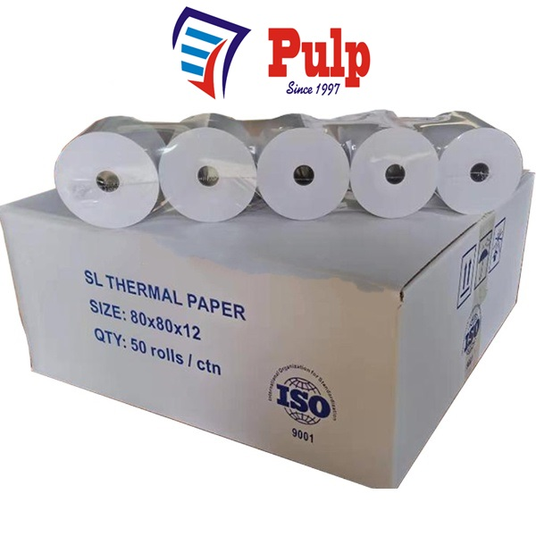 Thermal Paper Rolls 79mm to 80mm Online at Reasonable Rates