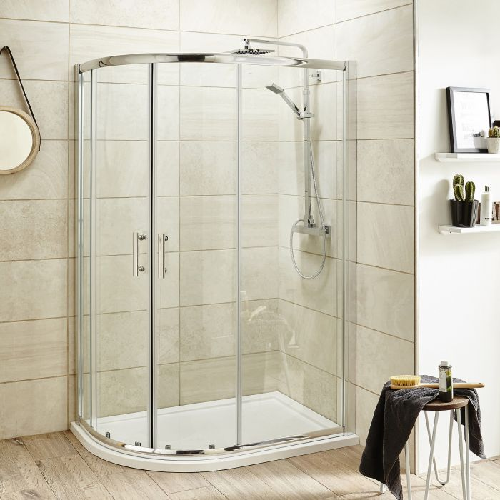 Upgrade your bathroom with durable Offset Shower Enclosures