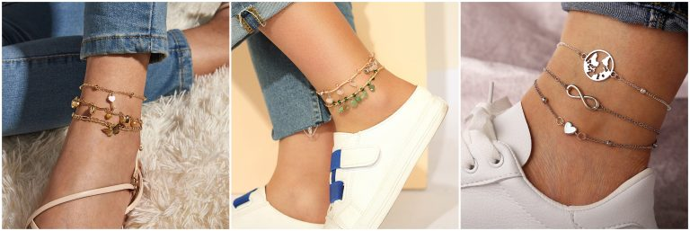 Women Anklets Make You More Refined