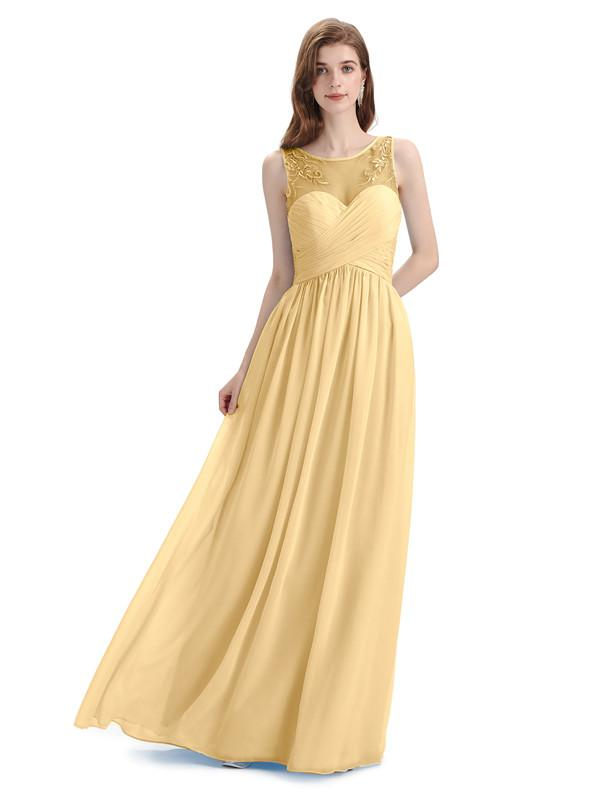 How to Find The Best Gold Bridesmaid Dresses According to Your Body Type?
