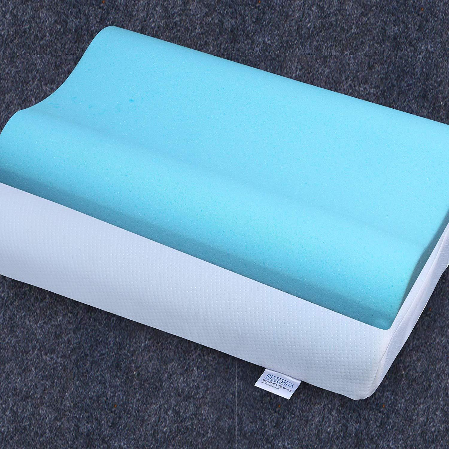 The Best Shoulder Pain Memory Foam Pillow with Infused Gel