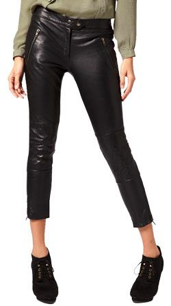 WHY DO WE PREFER LEATHER PANTS TO JEANS?